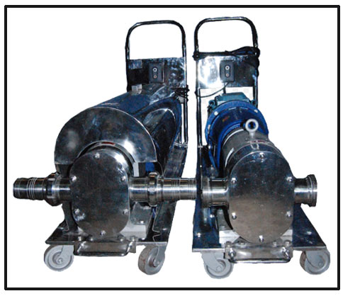 Stainless Steel Positive Rotary Lobe Pump 1